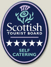 5 Stars Visit Scotland Grading (Scottish Tourist Board)