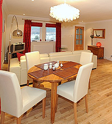 Silver Birch Dining Area